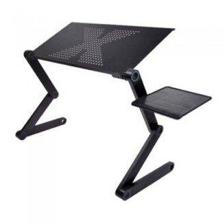 Bandeja de soporte para mesa de laptop para sofá cama Negro · Dpthings