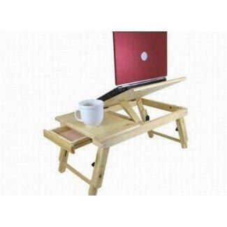 Computadora portátil ajustable y escritorio de cama te permite relajarte mientras