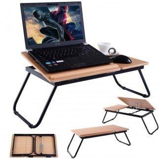 Soporte para laptop para guía de cama   Best Bed Laptop Table