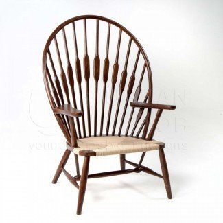 Replica de silla de pavo real