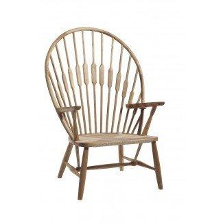 Diseño de silla: silla de pavo real Hans Wegner