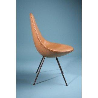 Silla, The Drop Chair. Diseñado por Arne Jacobsen para Fritz
