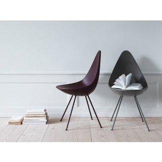 Compre el plástico Fritz Hansen Drop Chair en