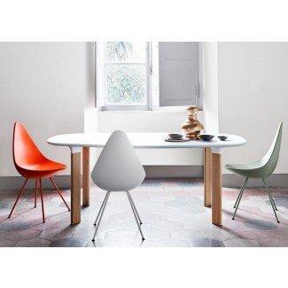 Diseño de silla: Drop, par Arne Jacobsen. - Picslovin
