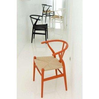 Asiento icónico de los años 50: silla Wishbone