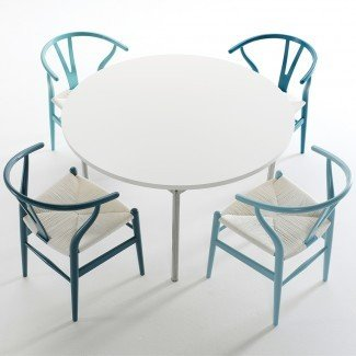 Silla CH24 Wishbone - Serie azul | Hans J. Wegner