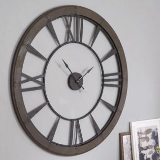 "Reloj de pared de gran tamaño de Paray 60 """
