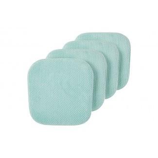 Cojín de silla de comedor interior / exterior antideslizante Ultra Comfort (juego de 4)