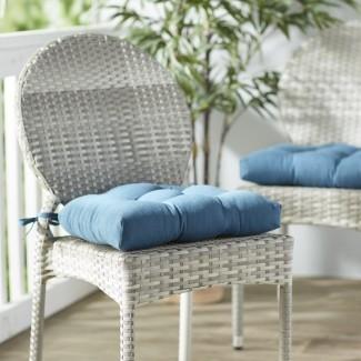 Cojín para silla de comedor interior / exterior (juego de 2)