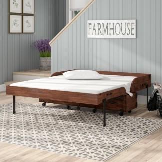 Oradell Queen Storage Murphy Bed con colchón