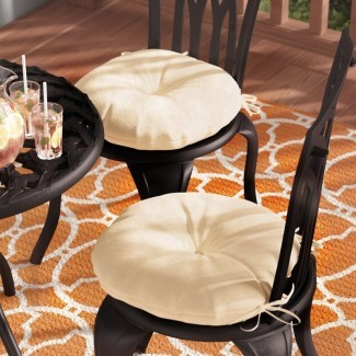 Cojín para silla de comedor para interior / exterior Sarver (juego de 2)