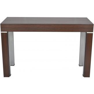 ELEGANTE - La consola se expande a la mesa de comedor ...