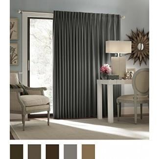 Eclipse Thermal Blackout Patio Door Cortina Panel, 100 pulgadas x 84 pulgadas