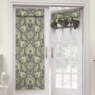 Clifton Hall Nature / Floral Room Oscurecimiento Rod Pocket Panel de cortina individual