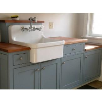 Fregadero de lavandería y gabinete Combo Fregadero de metal ...