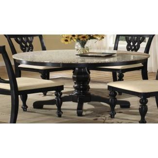 20 mejores diseños de mesas de comedor de granito para su comedor