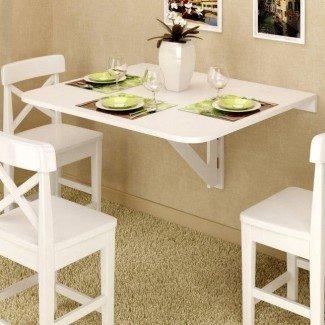 22 mesas de comedor que ahorran espacio para su apartamento | Brit +