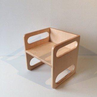 Ella Adams Montessori Cube Chair Large by modernfurnishings