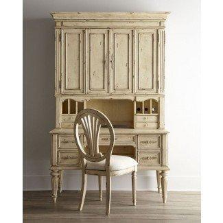 Escritorio de secretaria con Hutch Antique - Nuevos diseños de muebles ...