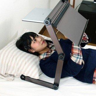 soporte para computadora portátil para su cama - Revisión y foto