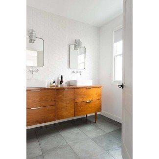 Inspo de diseño de baño moderno Mid Century {+ The Best ...