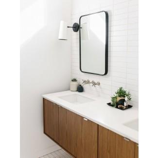 Nuestra Casa Austin || Cuarto de baño principal moderno de mediados de siglo ...