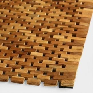 Alfombra de baño de madera de teca | Mercado mundial