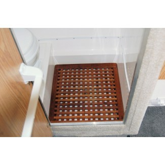 Cómo hacer alfombrilla de baño de teca - Nuevo diseño para el hogar