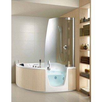 Bañera de hidromasaje de esquina: la solución perfecta para pequeñas ...