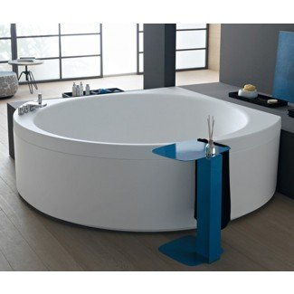 Ideas: hermosas ideas de diseño de bañera de esquina para pequeños ...