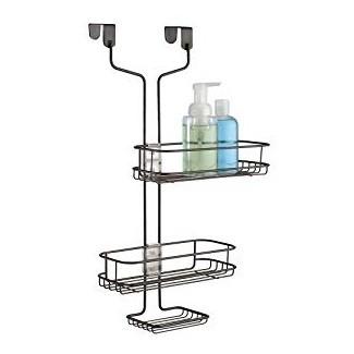 InterDesign Linea ajustable sobre el carrito de la ducha de la puerta ...