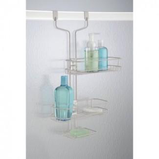 InterDesign Linea baño ajustable sobre la ducha de la puerta ...