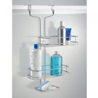 InterDesign Linea baño ajustable sobre la puerta de la ducha ...