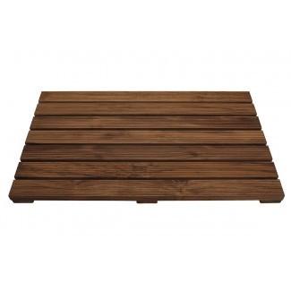 Alfombrilla de ducha de madera de teca Jonathon