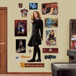 Harry Potter Hermione Granger - Calcomanía de pared de pelar y pegar príncipe mestizo