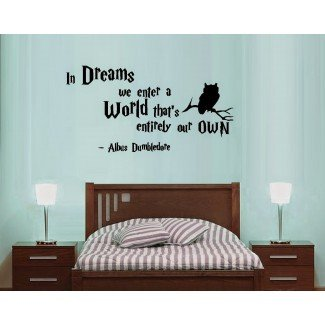 Ideas y diseños de decoración de dormitorio: temática de Harry Potter ...