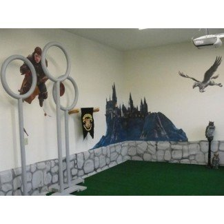 decoración de la habitación de harry potter   decorar salas de juegos para niños ...