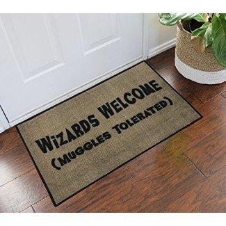 Harry Potter Wizards Welcome Muggles Tolerated - 2x3 - Doormat