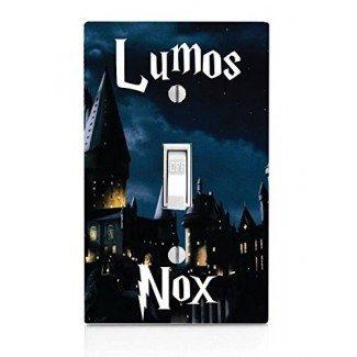 Placa de interruptor de luz Lumos Nox