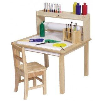 Steffywood Kids Craft Creativity Desk Mesa de arte de madera ...