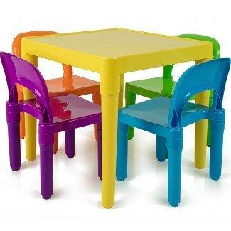 Lo mejor del juego de escritorio y silla para niños pequeños ...