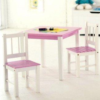 Escritorio y silla para niños pequeños Amazon | Ideas de diseño para el hogar