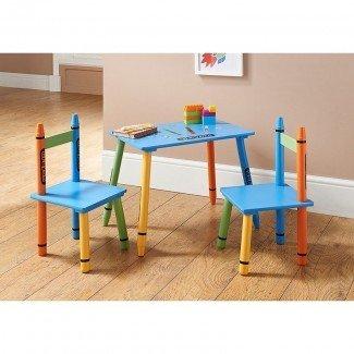 B&M Crayon Mesa y sillas - 311273 | B&M