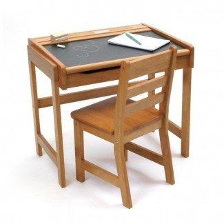 Escritorio y silla para niños pequeños | Ideas de diseño para el hogar
