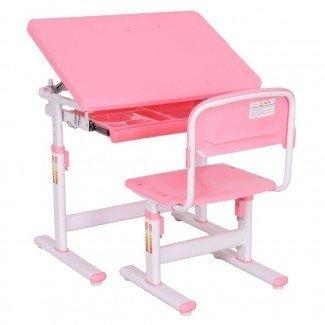 Juego de silla de escritorio para niños de altura ajustable Ba Toddler ...