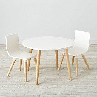 Juego de mesa y silla de juego para niños pequeños | The Land