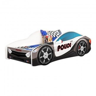 Cama doble de policía Grieco Kid Cop Police