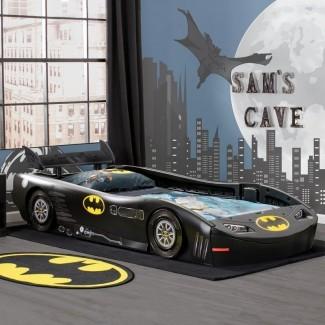 DC Comics Batmobile Batman Twin Bed