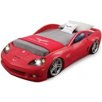 Race Car Bed para niños pequeños, Race Off to Kids 'Dreamland