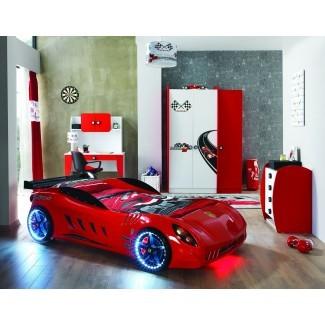 Cama para auto F12 Race - Rojo - Tienda de cama para auto